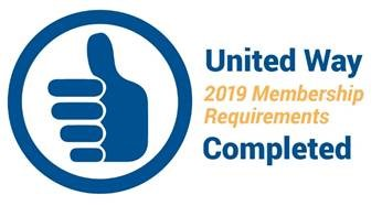 2019 United Way Membership Requirements Completed